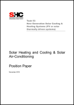 Solar Heating and Cooling & Solar Air-Conditioning