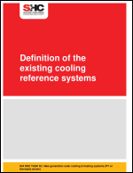 Definition of the existing cooling reference systems