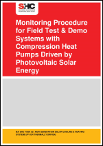 Monitoring Procedure for Field Test & Demo Systems with Compression Heat Pumps Driven by Photovoltaic Solar Energy