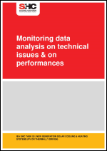 Monitoring data analysis on technical issues & on performances